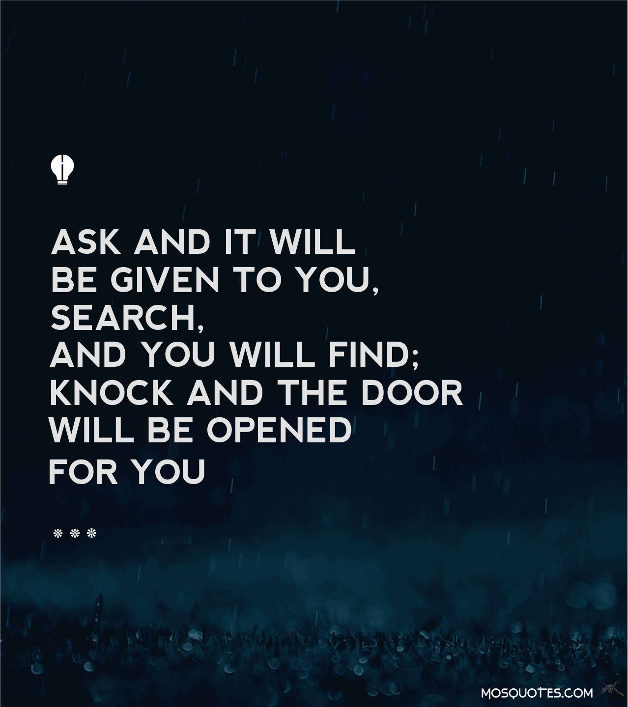 Life Inspiring Quotes Life Inspirational Quotes Ask And It Will Be Given To You Search