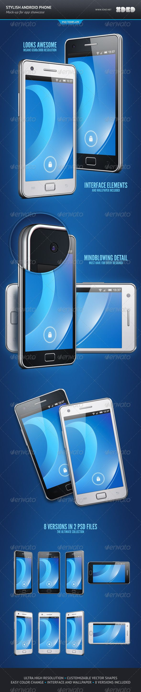 Stylish Android Phone App Showcase Mockup - Mobile Displays http://topfiles.org/list/60yz7he2uu
