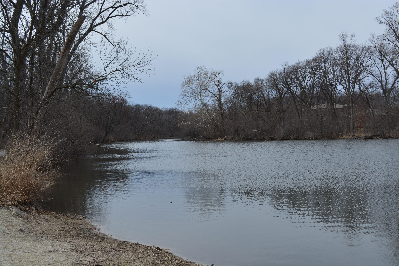 The peaceful lake...