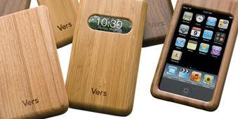 Wood cellphone covers