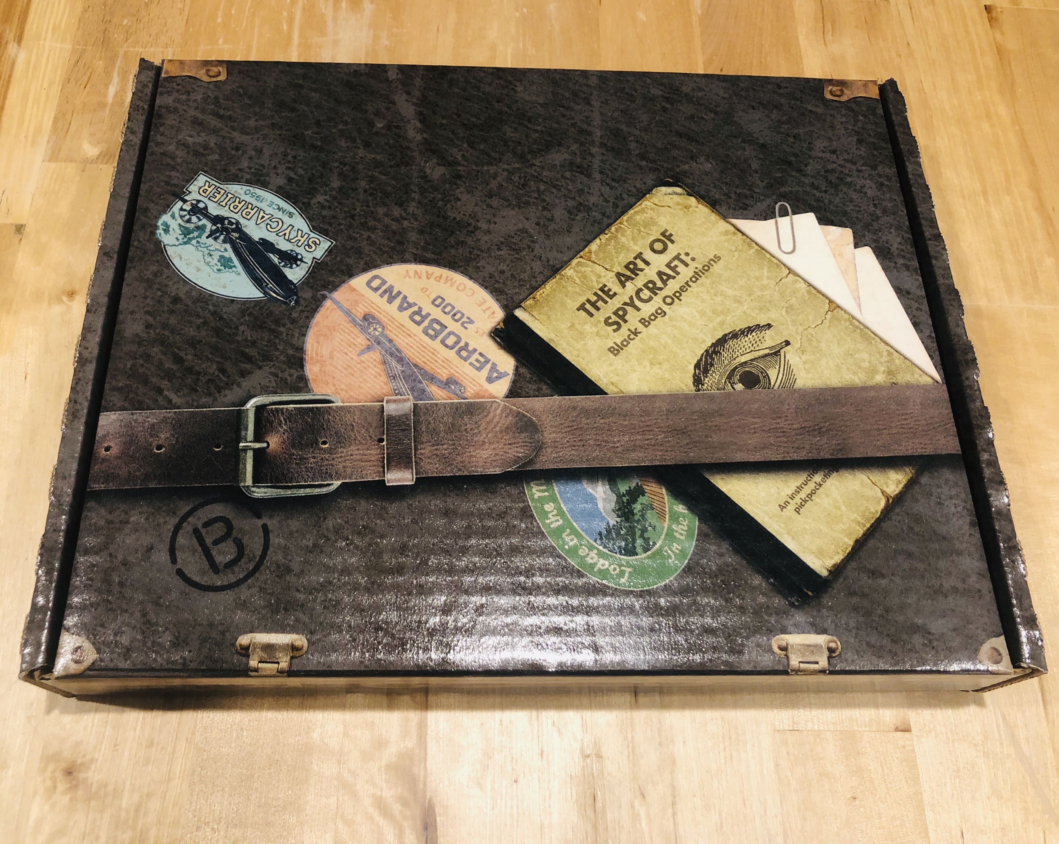 A full review of Dispatch I, Spy Monthly subscription box