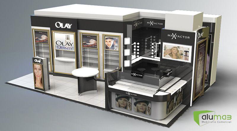 Aluma3 mobiliario comercial dise o stand pinterest for Mobiliario 8 80