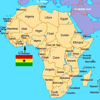 Highlife The Signature Music Of Ghana Popular Music Ghana And - Map of africa for kids
