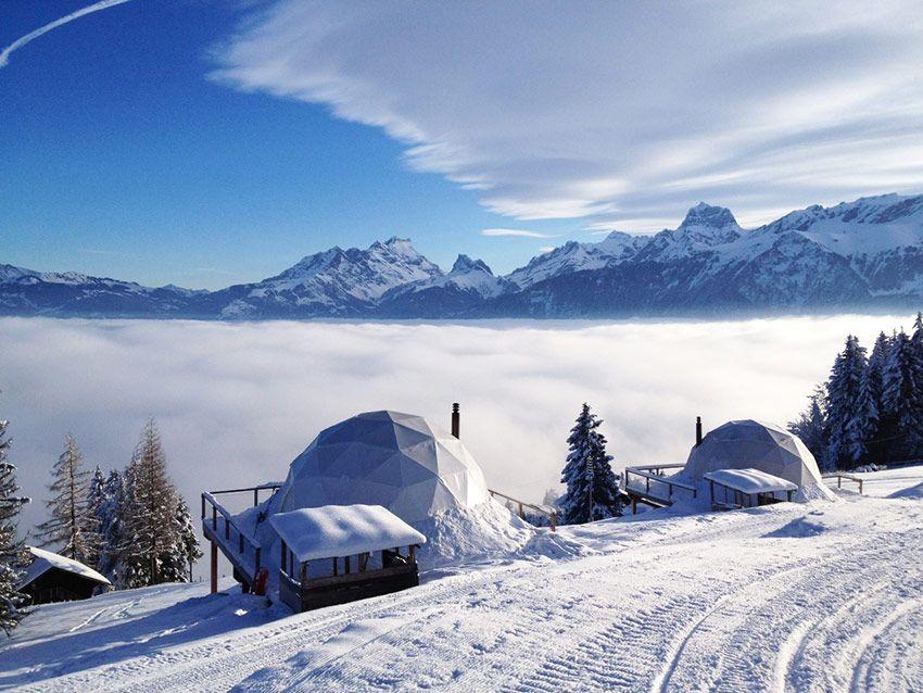 White Pod, Les Cerniers – Alpi svizzere