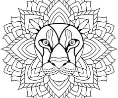 Coloriage Mandala Animaux Facile A Imprimer.Resultat De Recherche D Images Pour Coloriage Mandala A Imprimer