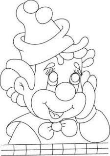 Cris Mantarini Klooyn Kindynoy Com Imagens Desenho De Palhaco Desenhos De Carnaval Rosto De Palhaco