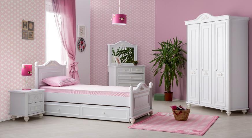Bella kinderbed meisjes bed kinderkamer meisje kamer complete ...