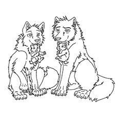 Top 15 Free Printable Wolf Coloring Pages Online Wolf Colors Cute Wolf Drawings Anime Wolf
