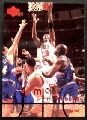 MICHAEL JORDAN 1998 UPPERDECK - MJx TIMELINE