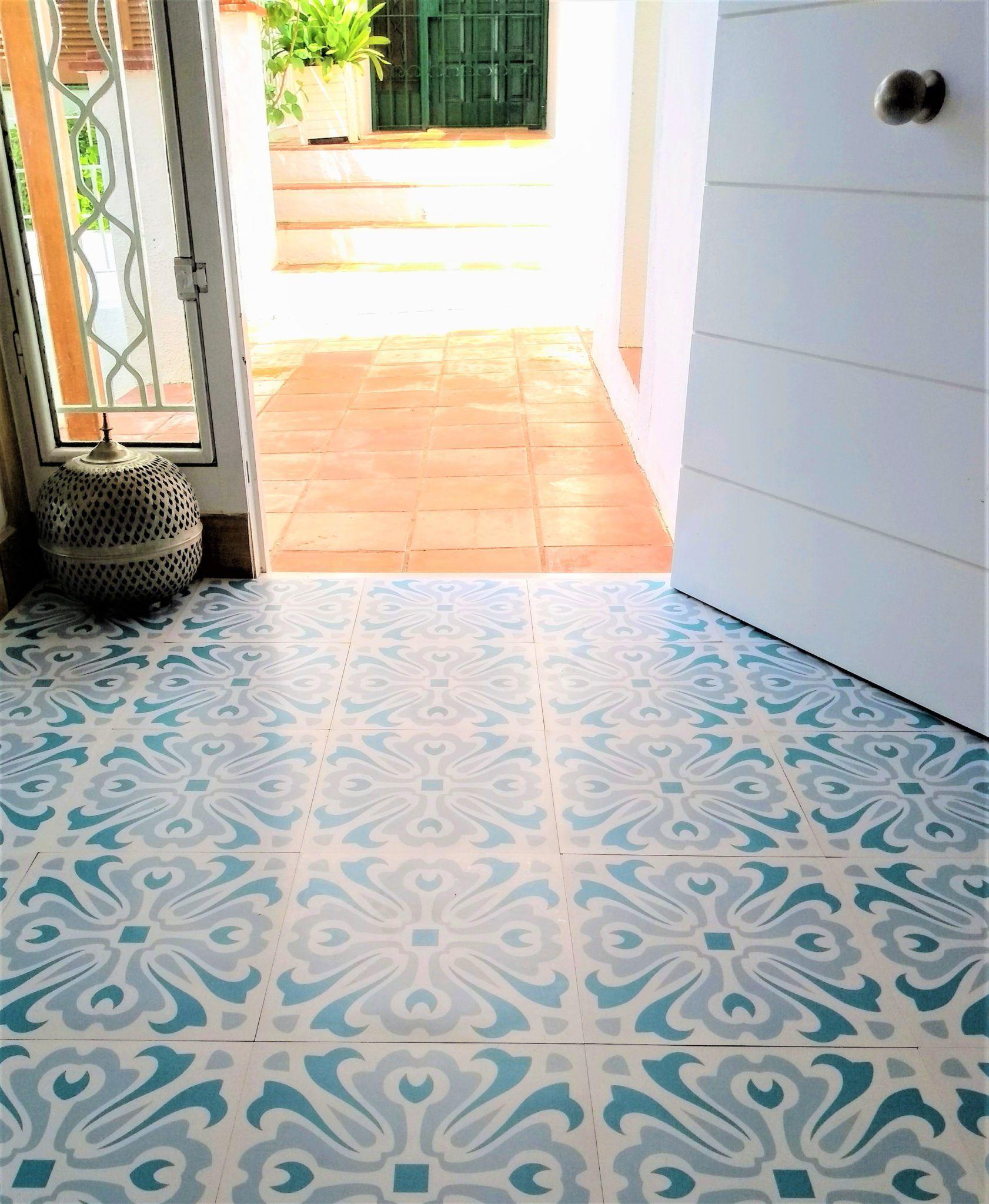 Havana Day Vinyl Floor Tile 18 Per M2 Vinyl Tile Flooring Bathroom Vinyl Flooring Kitchen Vinyl Flooring Uk