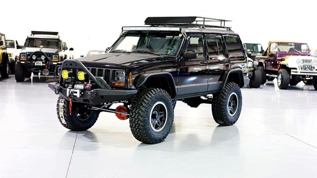 Restored 1999 Jeep Cherokee XJ Classic by Davis AutoSports