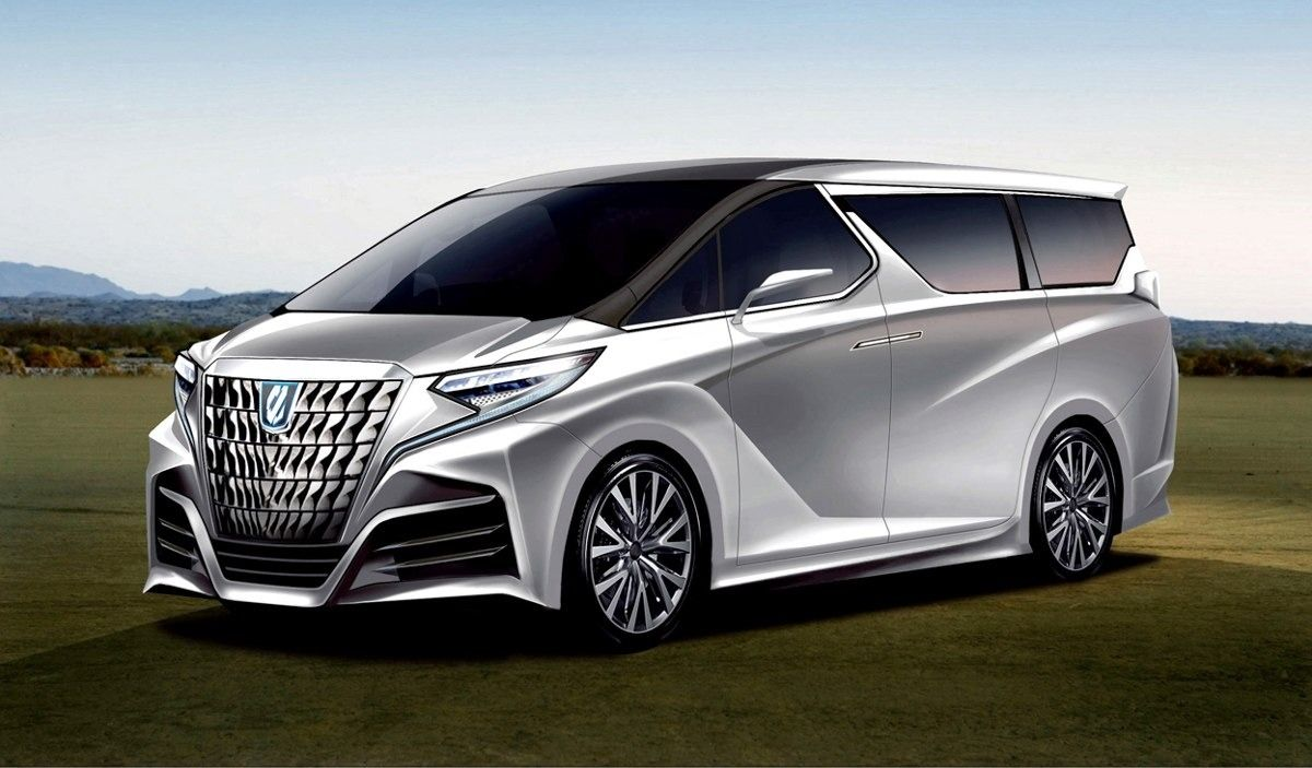 2021 Toyota Alphard Redesign and Concept