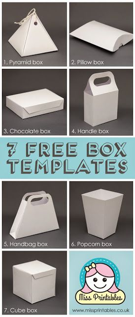 Animal Craft Box Template