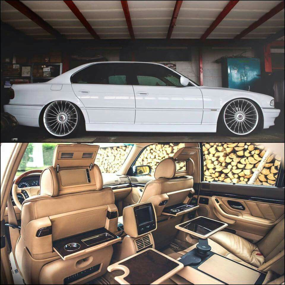 Bmw M3 Interior: E38 750i With Alpina Bits
