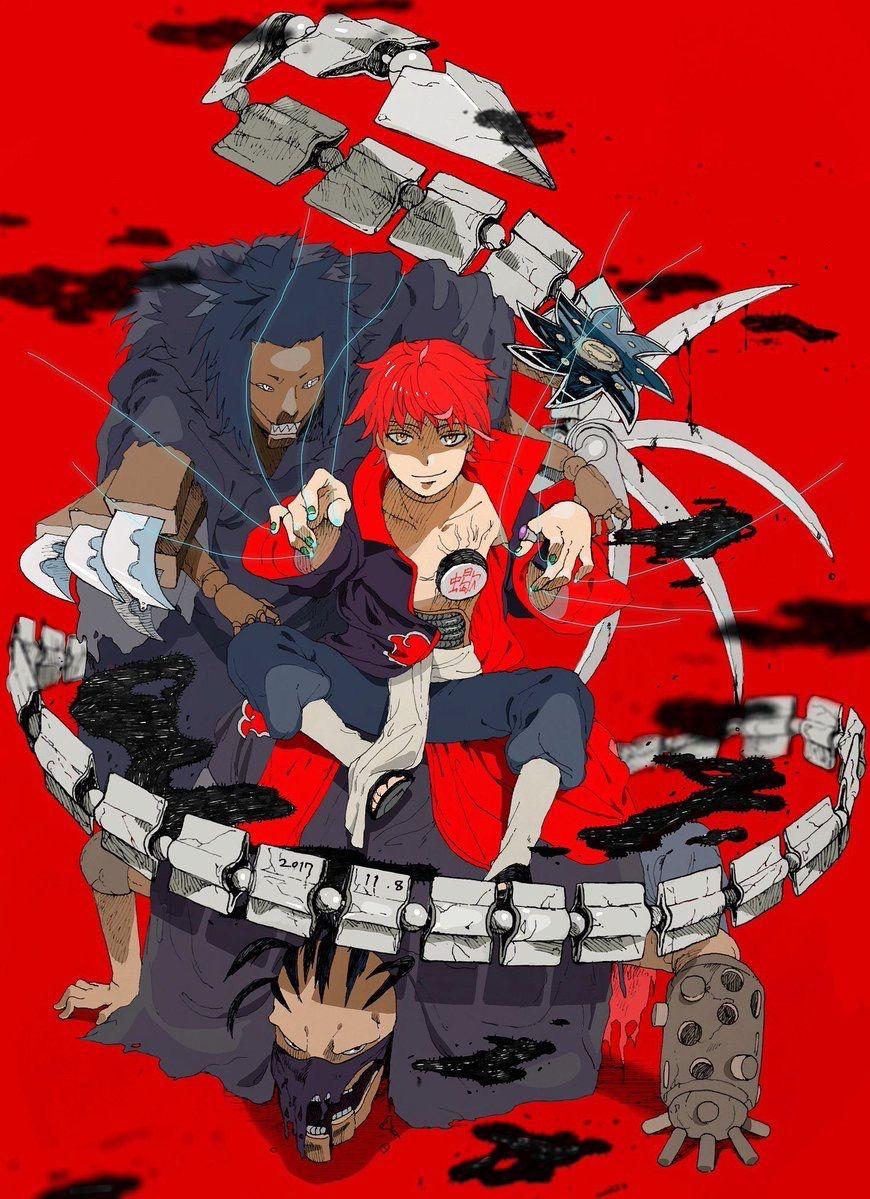 Mestre das marionetes   desenho Art e etc...   Naruto ...