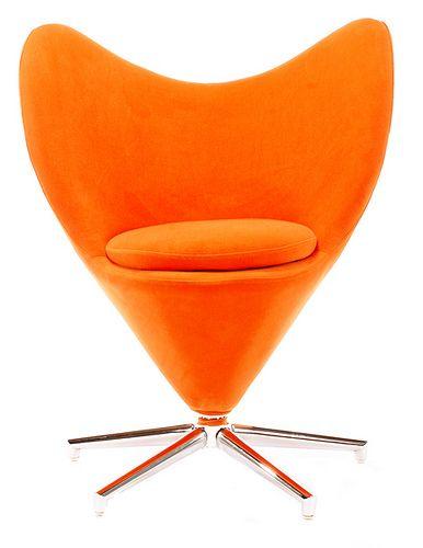Verner Panton Heart Chair Vintagelooks Com Chair Panton Chair