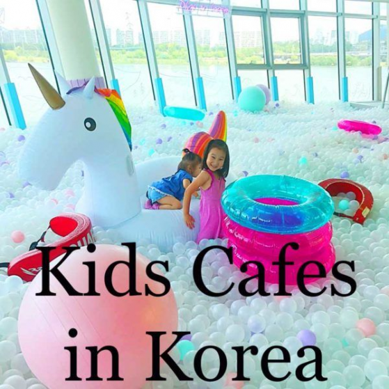 Korea has the best Kids cafes. Looking for kid friendly activities in Seoul? More Korea travel guides by Maries Kawaii World. #southkorea #south #korea #cafe
