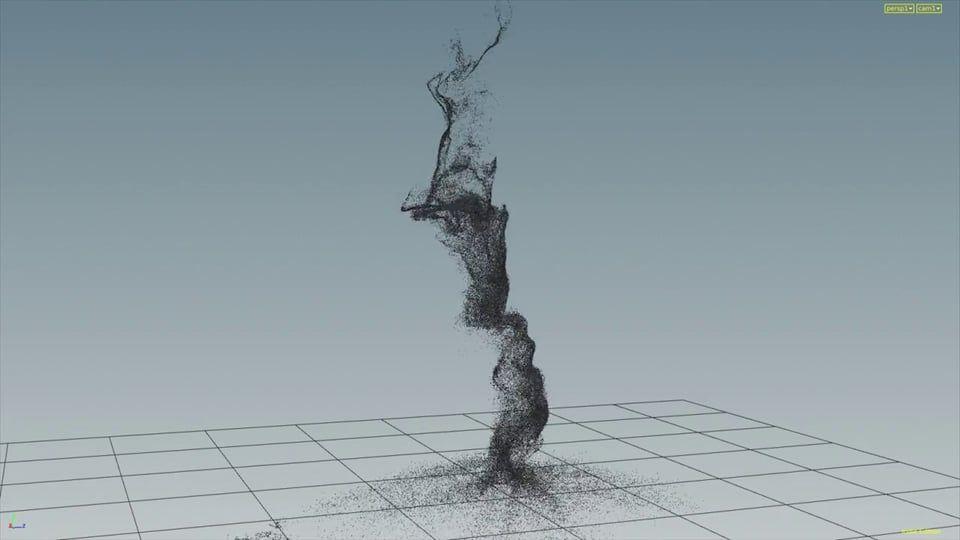 Houdini Custom Velocity Vortex Scenefile on Vimeo