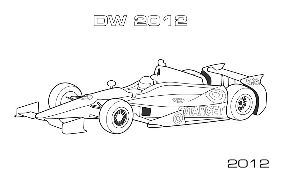 A site for car, racing, and motorsport coloring pages