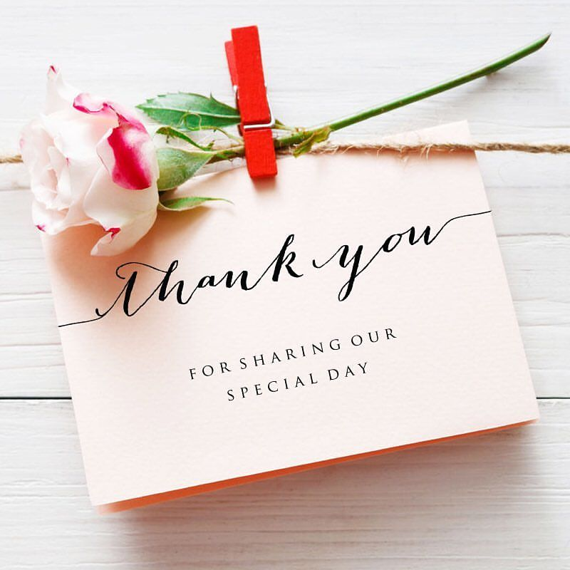 Say Thank You in style with diy printable thank you cards ...