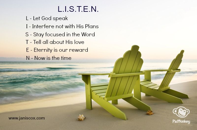 LISTEN TO GOD | Growth for a Better Me | Sermon