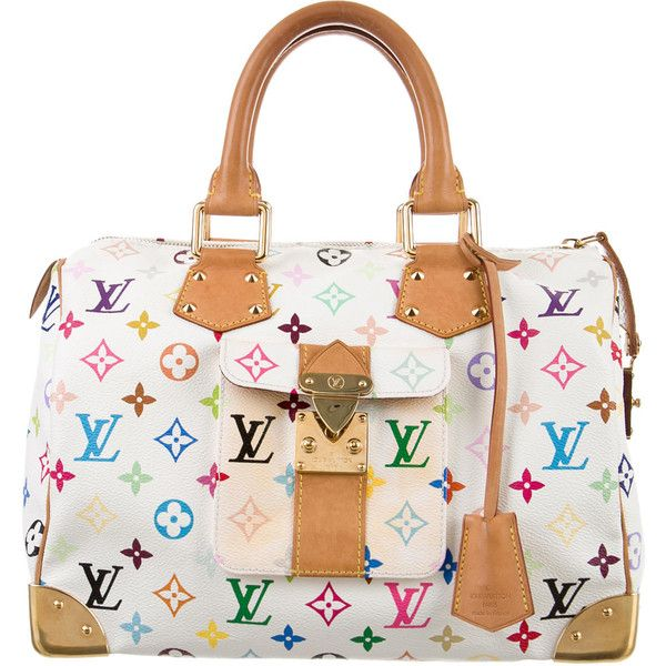 409d4f3ca131 Pre-owned Louis Vuitton Multicolore Speedy 30 ( 1