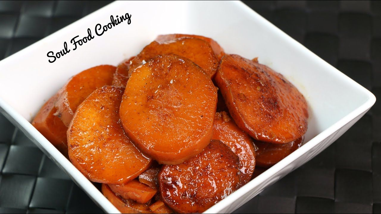 Candied Yams Recipe   How to Make Soul Food Candied Yams   - YouTube