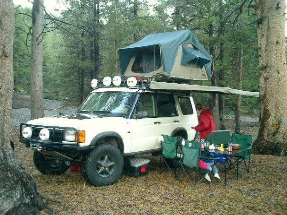"""hannibal awning on discovery   2000 Land Rover Discovery """"Disco II"""" - Fort Collins, CO owned by ..."""