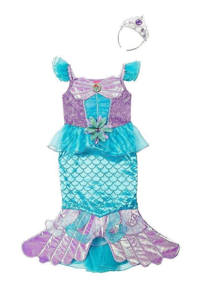a4efba950f Tesco direct  Disney Princess Ariel Dress-Up Costume