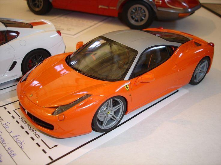 Ferrari 458 (With images) Plastic model cars, Scale