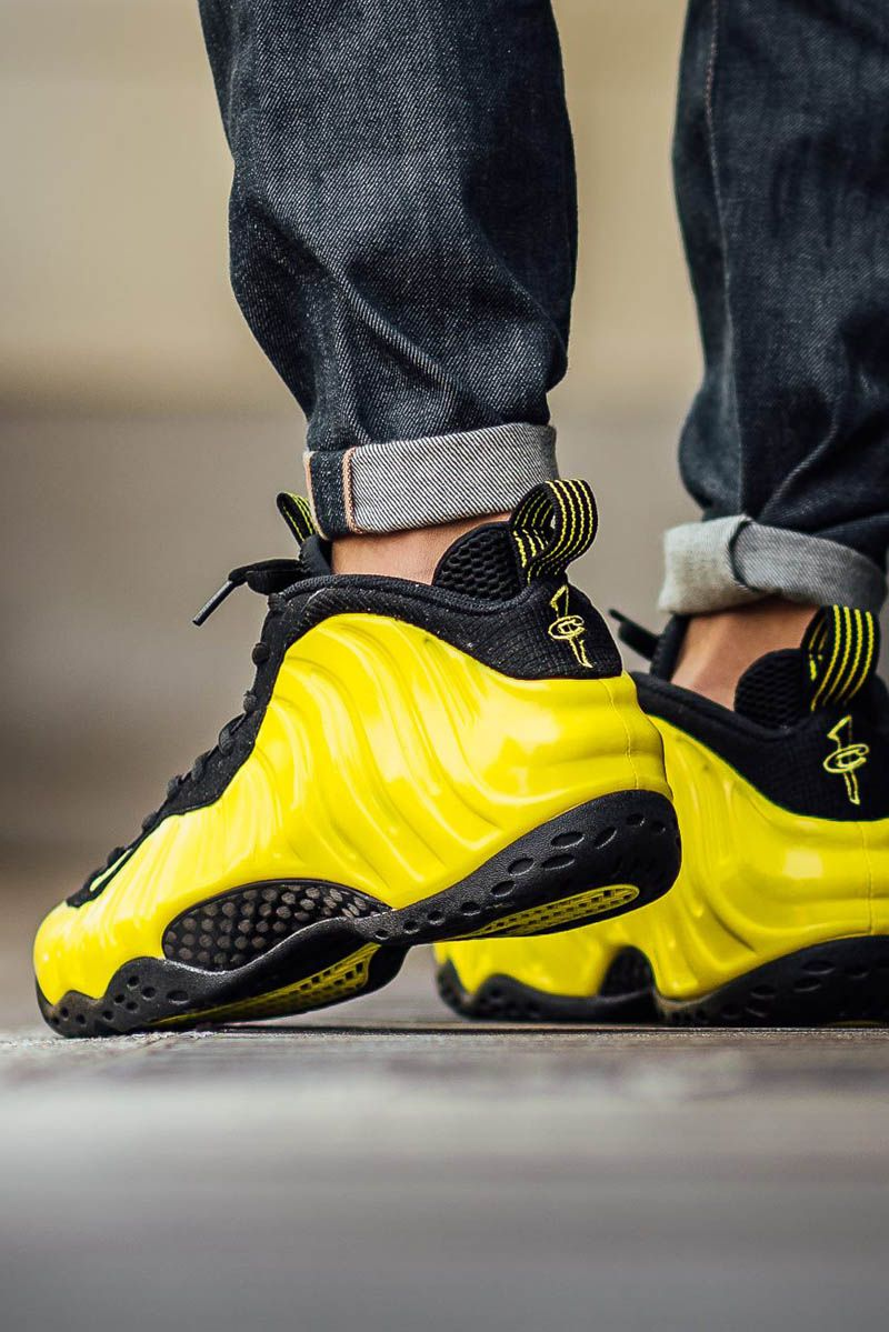 Black × Yellow Air Foamposite One