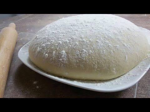 عجينة العشر دقائق السحرية لجميع انواع المعجنات المخبوزات طريقة تحضير عجينة 10 دقائق الحلقة 190 مكونات عجينة 10 دق Dough Baked Goods Dough Recipe