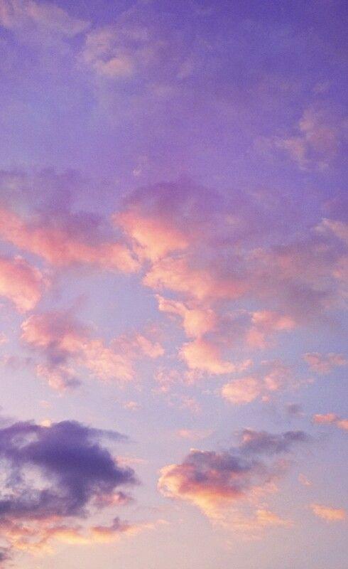 Idea By Ren On Sky Aesthetic Pastel Wallpaper Purple Wallpaper