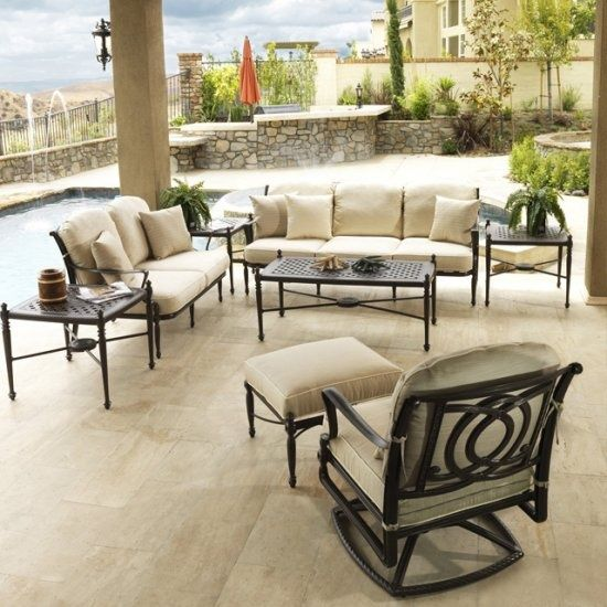 Bringing Outdoor Rooms To Life Is What Gensun All About Snuggle Up On The Cozy Grand Terrace Deep Seating Set Now At Great Escape
