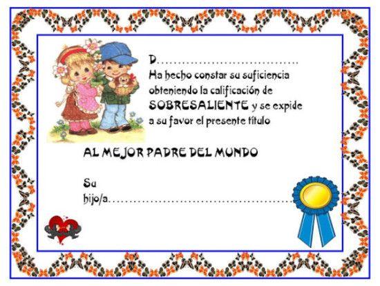 Modelos De Diplomas Infantiles Para Ninos 7 Diplomas Preescolar