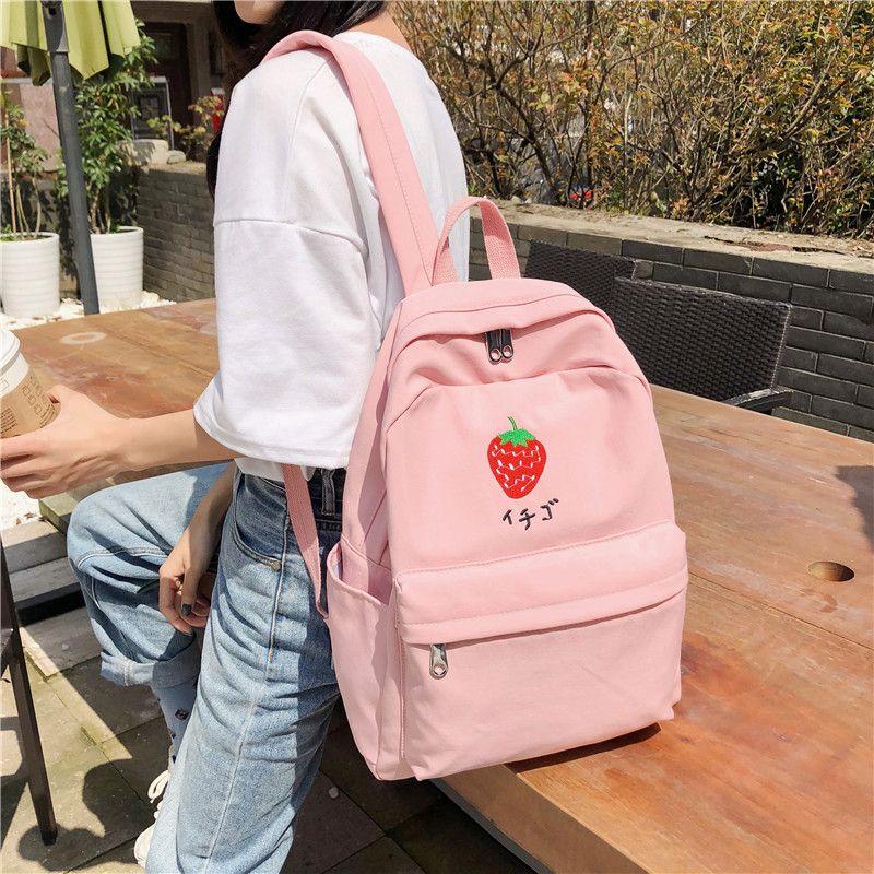 Details about  /Women Travel Backpack Rucksack Nylon Sholder School Bag Solid Color Handbag New