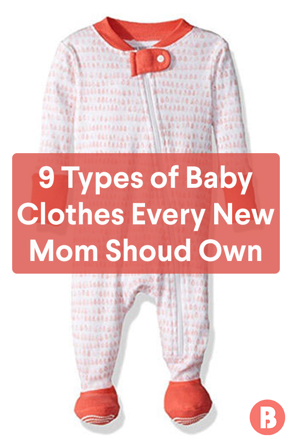 cd92557dc 9 Types of Baby Clothes Every New Mom Should Own