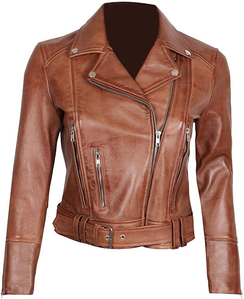 Fjackets Brown Leather Jacket Women Genuine Lambskin Leather Jackets Women Leather Jackets Women Leather Jacket Women Brown Leather Motorcycle Jacket Women [ 1000 x 817 Pixel ]