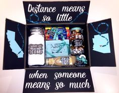 Cute Long Distance Gift Box To Send Your Loved One