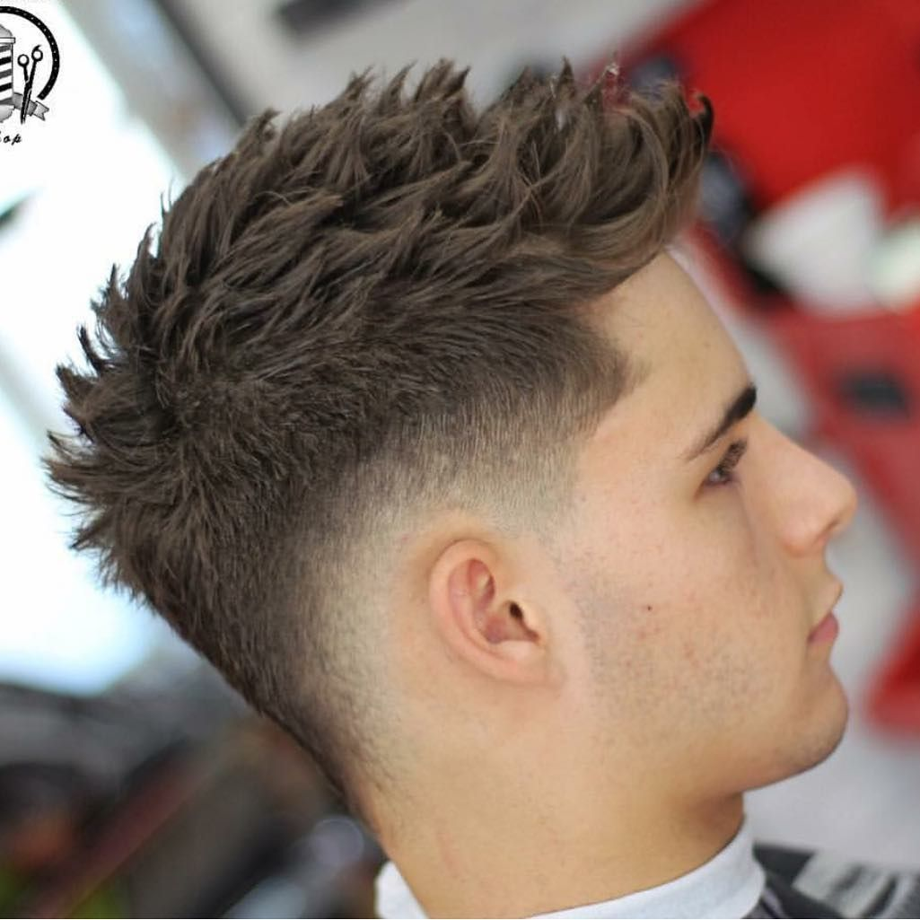 Rg Barberman Shop Use Hashtag Guyshair Guyshair To Be Featured More Mens Hair Menshairworl Thick Hair Styles Gents Hair Style Mohawk Hairstyles Men