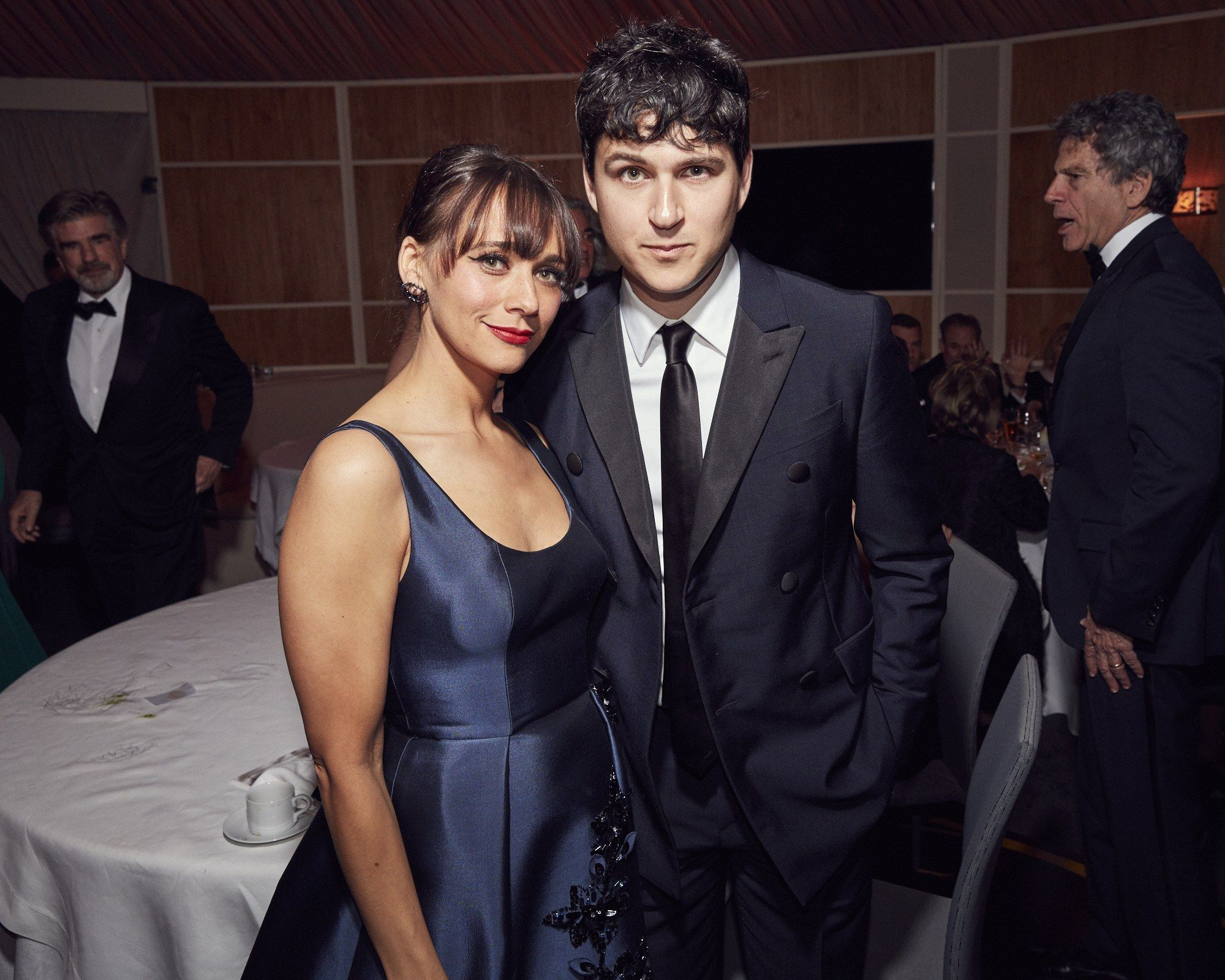 Boyfriend and girlfriend: Rashida Jones and Ezra Koenig