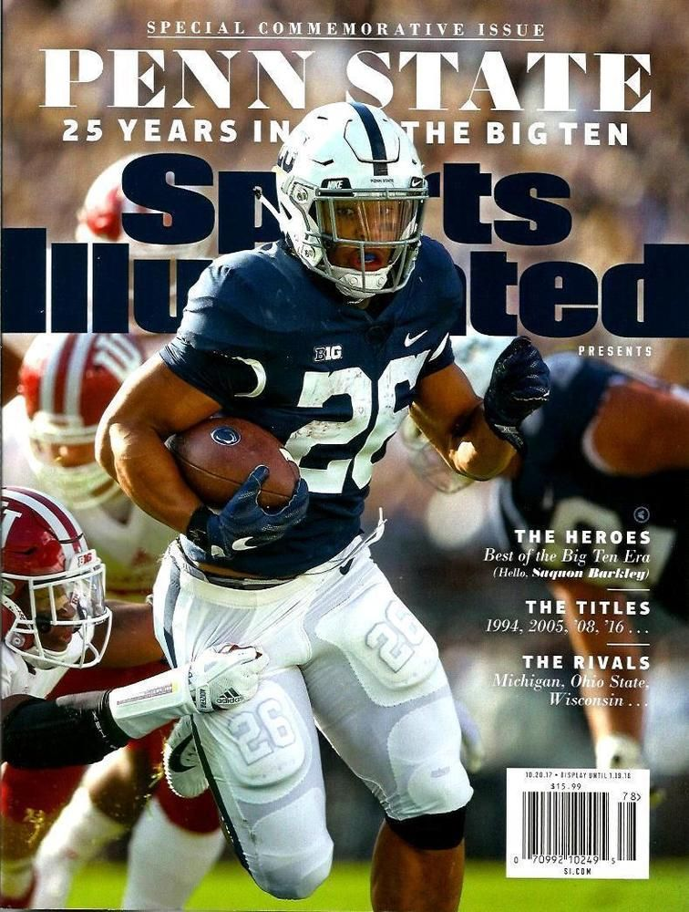 outlet store 2d173 6160e Sports Illustrated Commemorative Issue 2018 PENN STATE ...