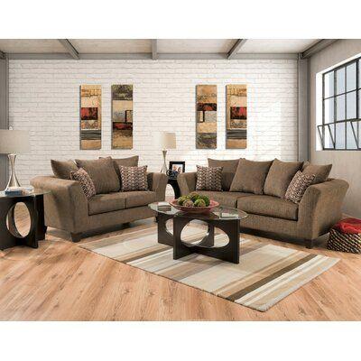 Wrought Studio Stroman 2 Piece Living Room Set In 2020 Living