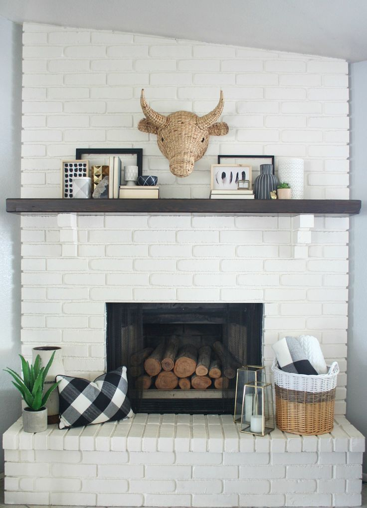 Black White Mantel Decor White Mantel Fireplace Design Mantel Decorations
