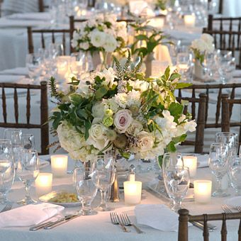 White Wedding Flowers Winter Flower Centerpieces Dream Receptions
