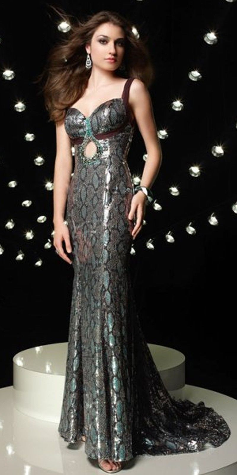 Alyce long sequin prom dress size pageant evening formal
