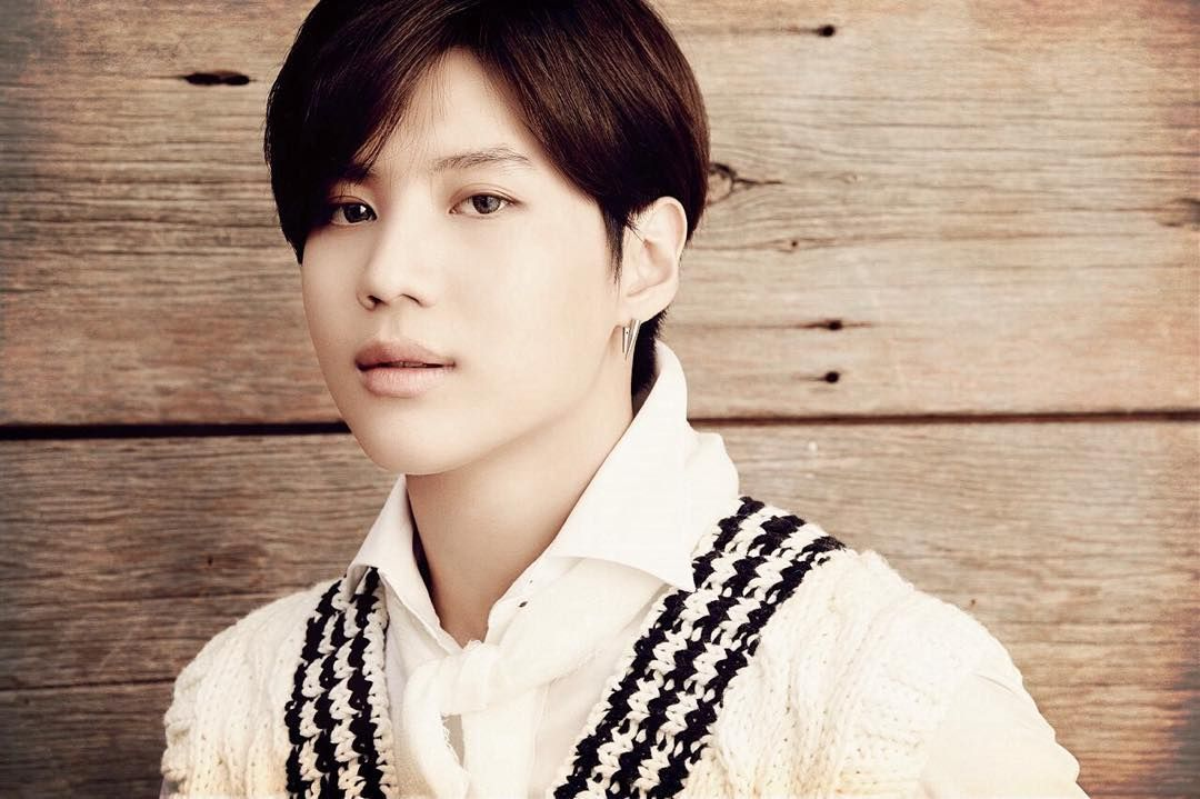""" 151011 Taemin — SHINee Japan Official Line update - 'Sing Your Song'"""