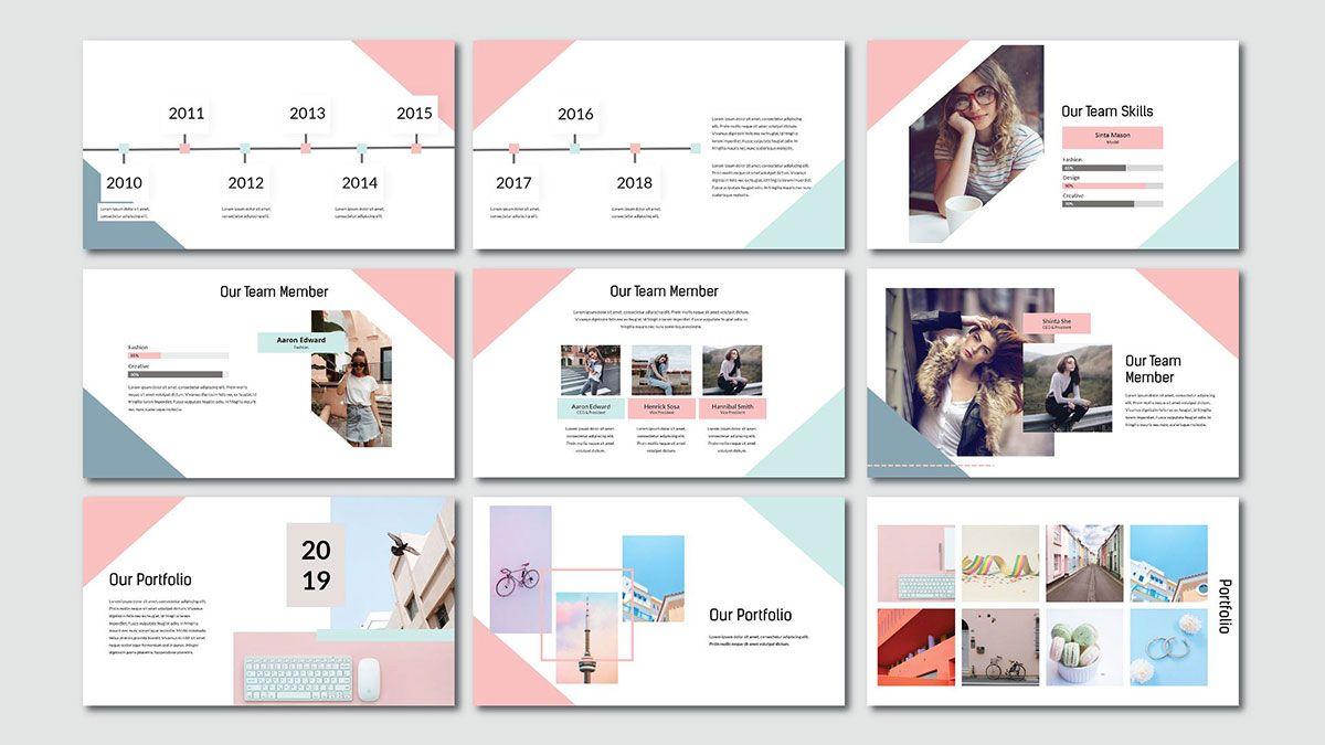 Pink Pastel Free Powerpoint Template Slide 2 Powerpointify Has Good Ppt Templates Powerpoint Background Templates Powerpoint Template Free Presentation Design