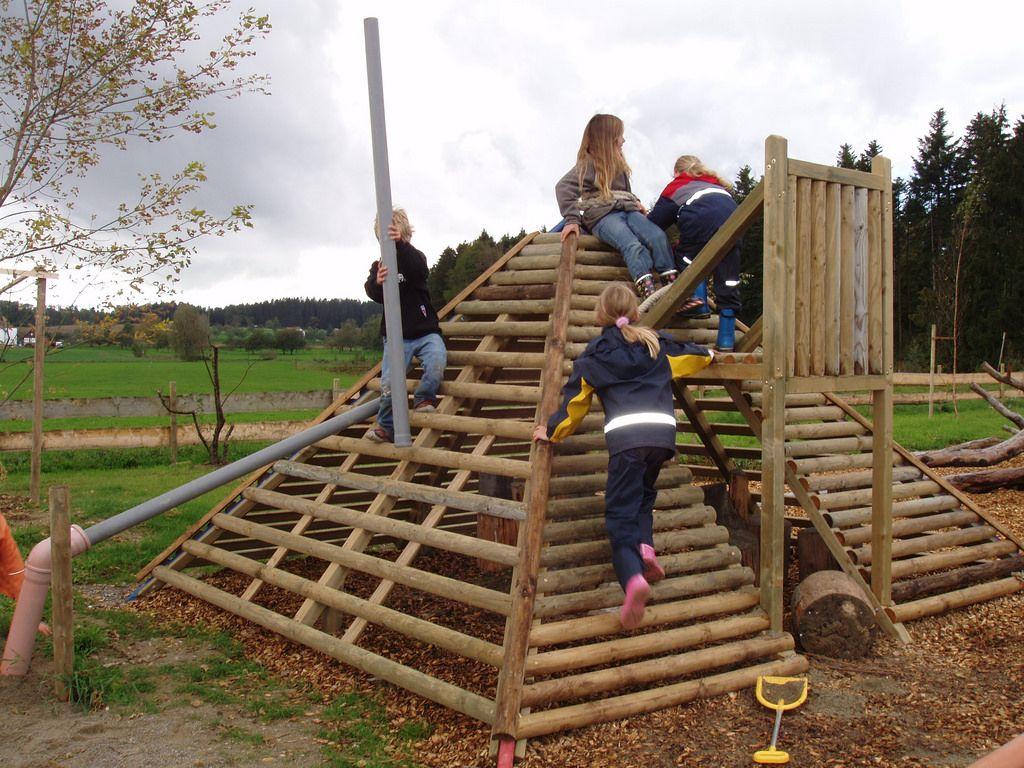 Pyramide Spielplatz Gestaltung Park Slide Park Structures