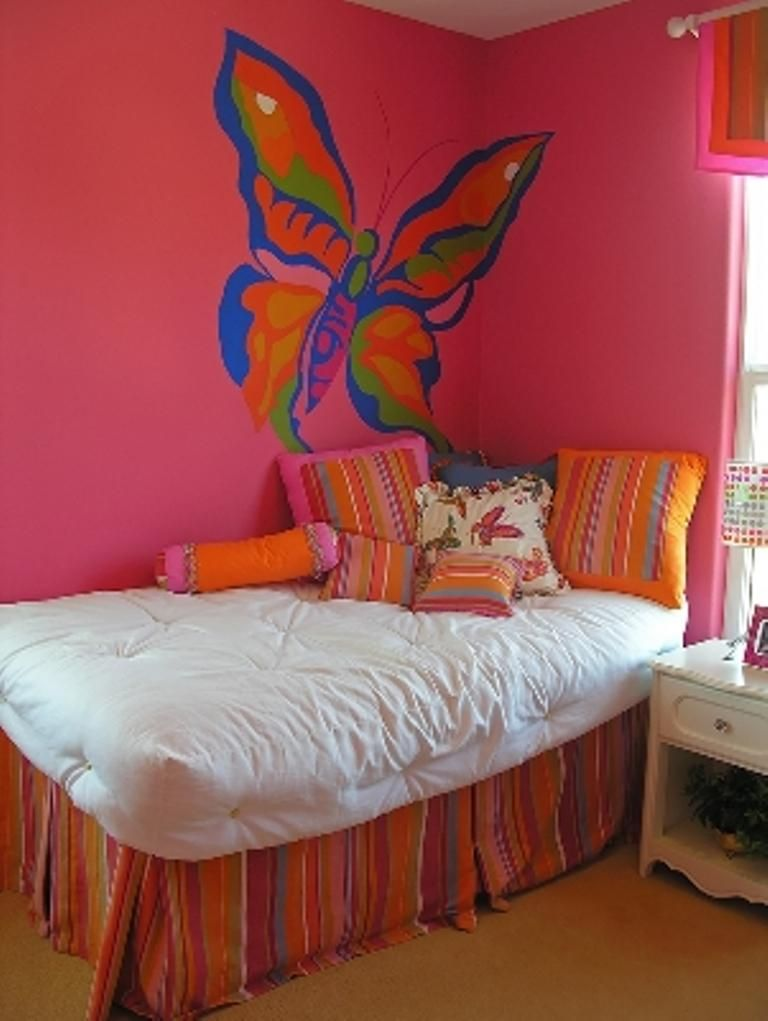 15 Charming Butterfly Themed Girl\'s Bedroom Ideas | Kids Bedroom ...
